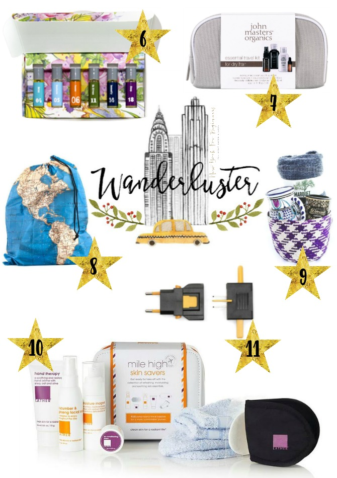 Wanderluster is a holiday gift guide with 11 fabulous gift ideas for travelers
