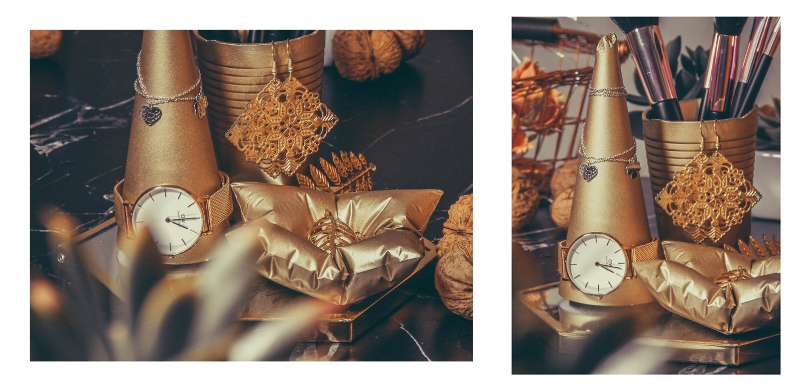 5a contit stylowe złote dodatki do wnętrz stojak na bizuterię jak przechowywać biżuterię nowoczesne dekoracje pomysł na prezent łódzkie upominki prezenty na gwiazdkę co kupić dziewczynie na urodziny, na święta