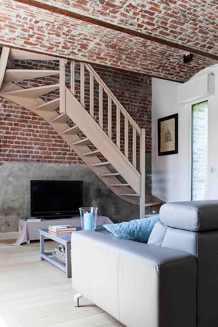 r novation d 39 une ferme au carr verlinghem 59 agence delannoy simoens architectes dplg. Black Bedroom Furniture Sets. Home Design Ideas