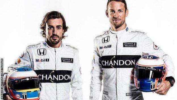 Musim Depan, Alonso tetap di McLaren, Bagaimana dengan Button?