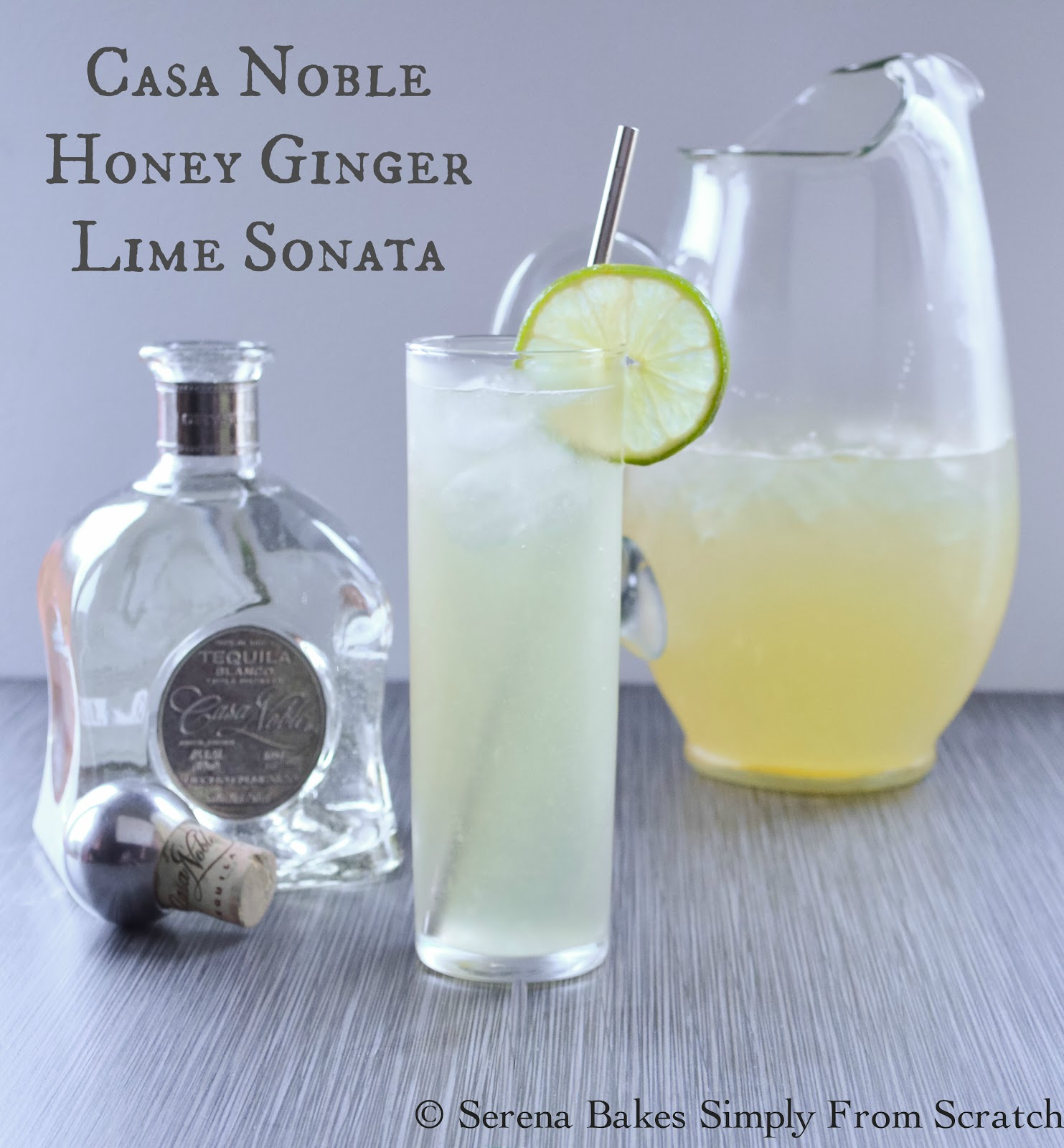 Casa Noble Honey Ginger Lime Sonata