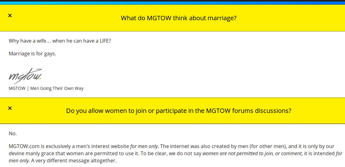Is MGTOW the sissy answer to WGTOW? | Nakedlydressed