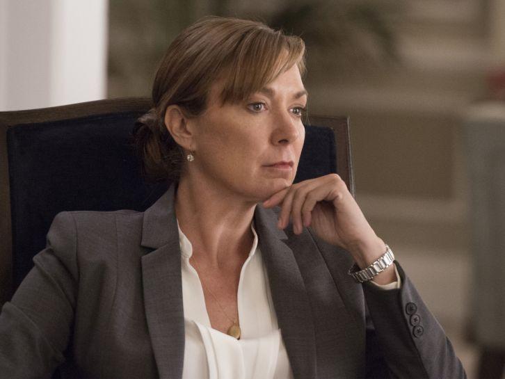 Elizabeth Marvel es Elizabeth Keane, la Presidenta de los Estados Unidos en 'Homeland'