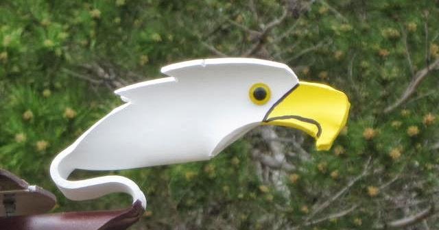 PVC Pipe Birds: PVC Pipe Birds - American Eagle