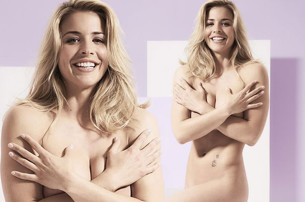 Gemma Atkinson Strips Naked