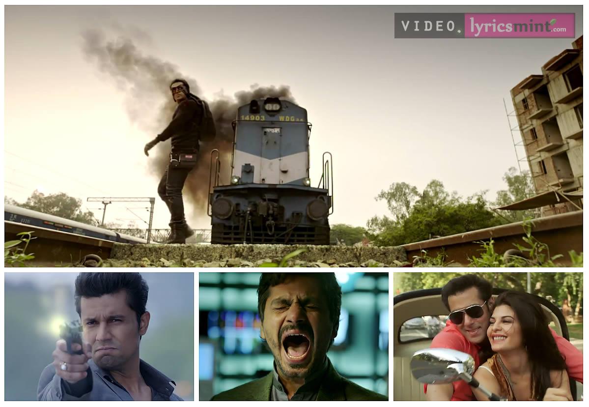 Salman Khan's KICK - Star Cast Collage
