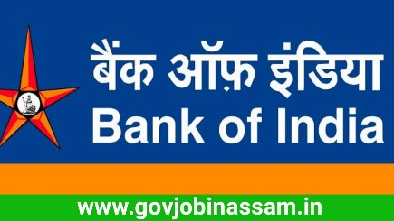 Bank of India Recruitments 2018