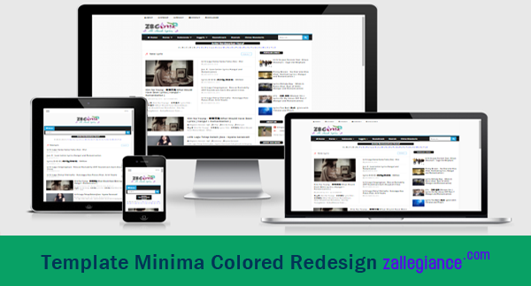 Download Template Minima Colored Hasil Redesign Zallegiance, Gratis!!