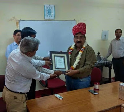 Retirement of Sh. Sudheer Rakhecha,DD(P) AIR Jaipur