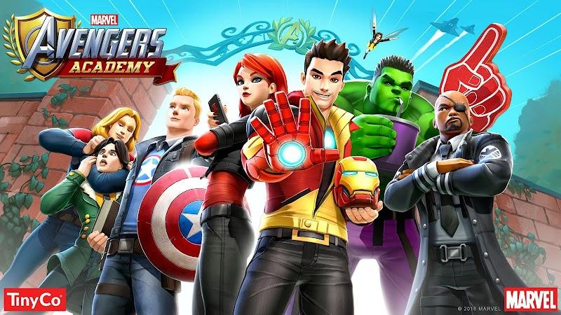MARVEL Avengers Academy Infinito