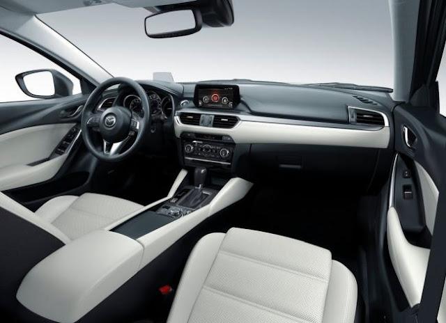 Interior Mazda 6 - 2017