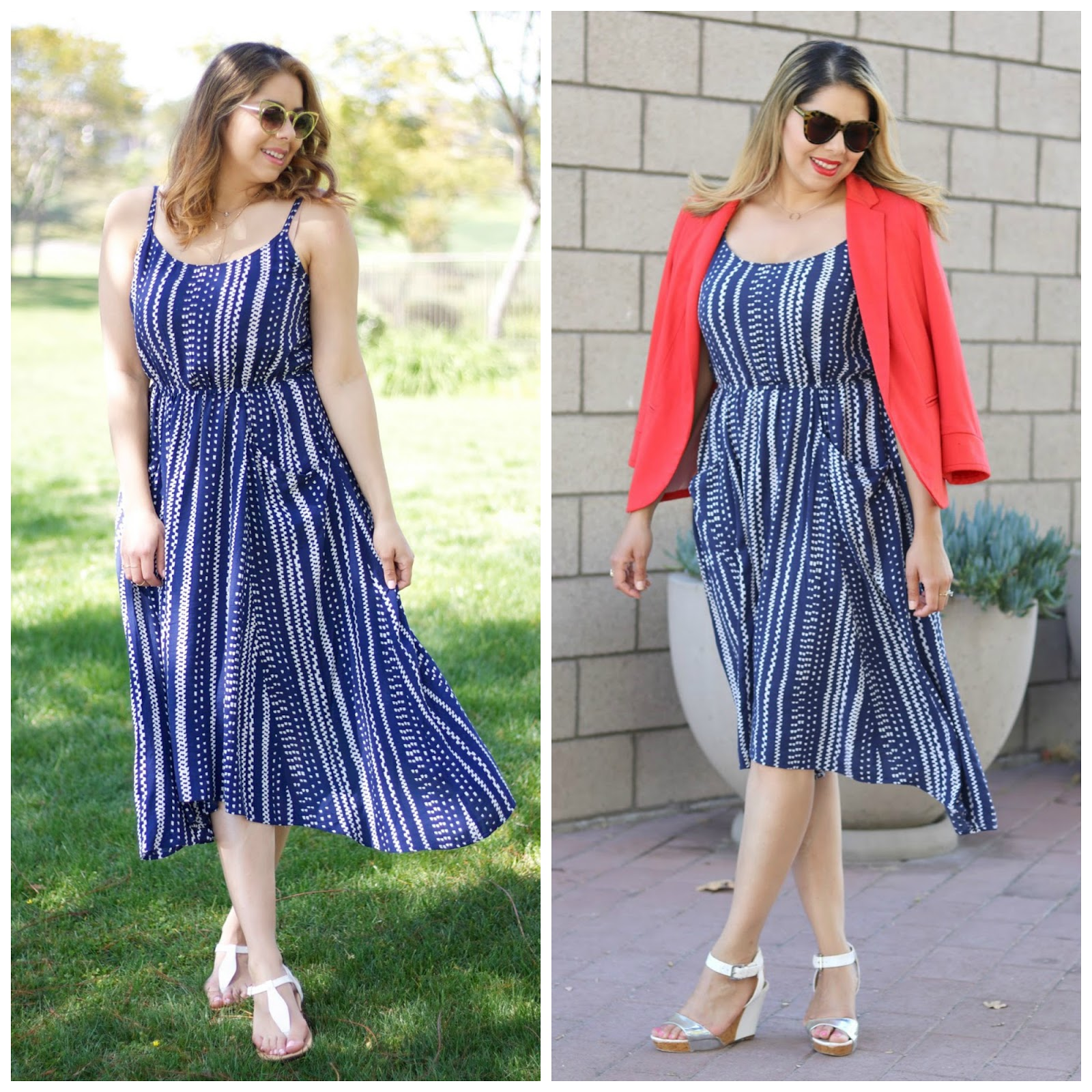 how to style a dress differently, 2 ways to wear 1 dress, two ways one dress, one item two ways