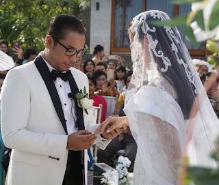 gambar Ucapan Turut Berbahagia dari Warganet mengalir untuk Pernikahan Sammy dan Viviane