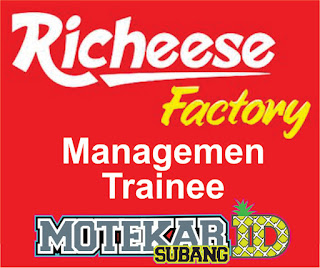 Info Loker Management Trainee Richeese Factory Subang Maret 2019