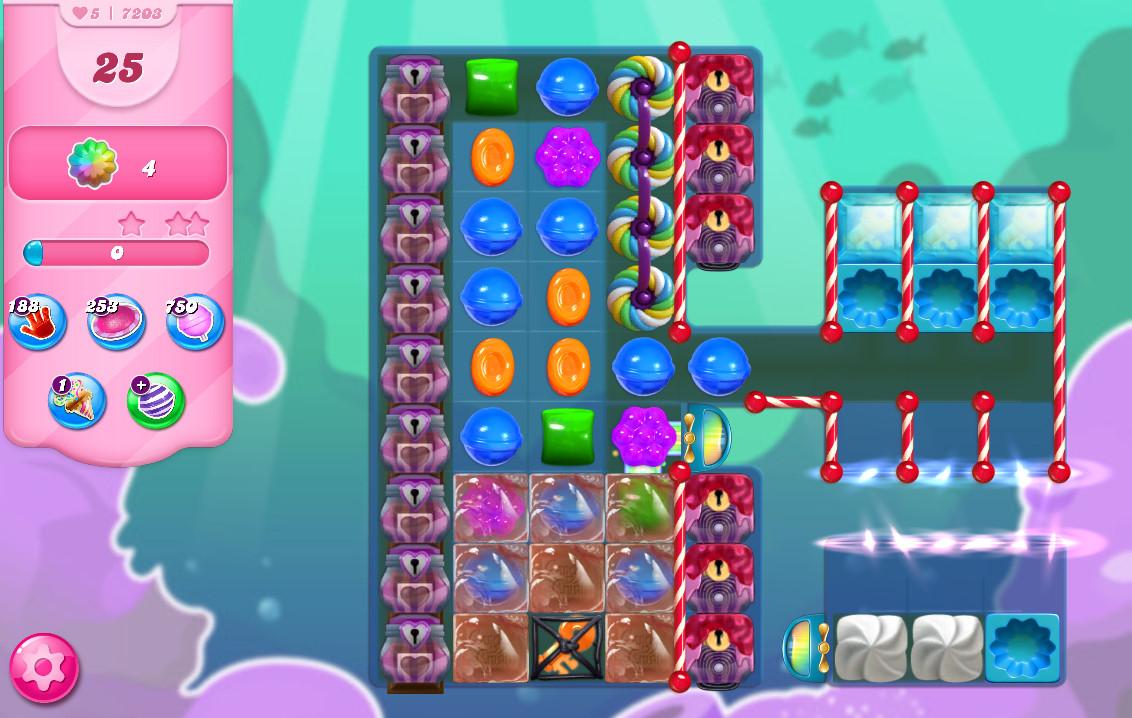 Candy Crush Saga level 7203