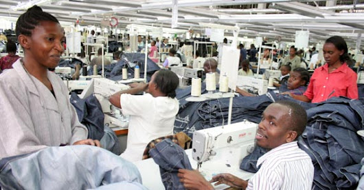 Africa's Economic Take-Off Dependent on the Manufacturing Sector