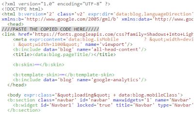how to edit html in blogger help
