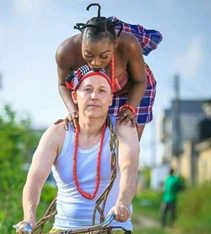 igbo lady marries white lady