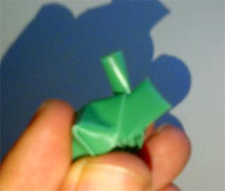 cara membuat bintang dari sedotan plastik