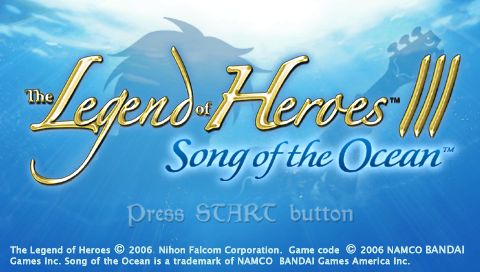 Legend Of Heroes Iii Song Of The Ocean