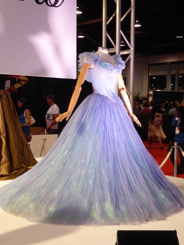 Cinderella movie ballgown