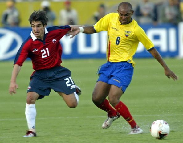 Ecuador y Chile en Clasificatorias a Alemania 2006, 10 de octubre de 2004