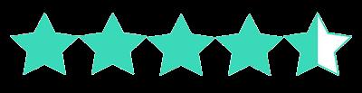 Resultado de imagen para four and a half stars png