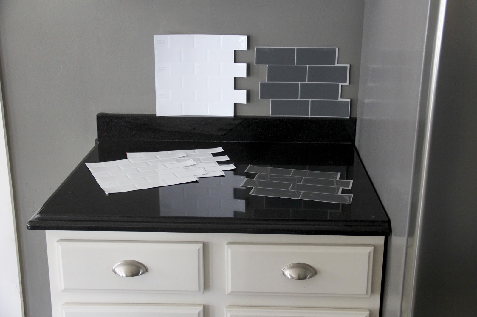 the yellow cape cod smart tiles peel and stick backsplash. Black Bedroom Furniture Sets. Home Design Ideas