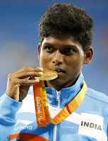 Mariyappan Thangavelu Photo, Gold Winner