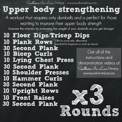Upper body strengthening interval workout for couples