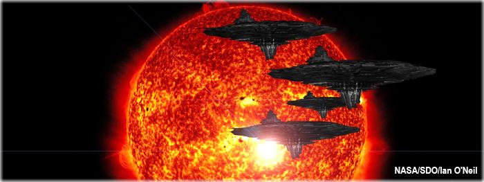 mega estrutura alienígena