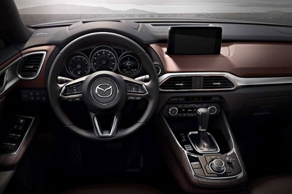 2019 MAZDA CX-9 with Android Auto and Apple CarPlay infotainment announced