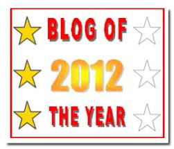 Best Blog of 2012 Year Award