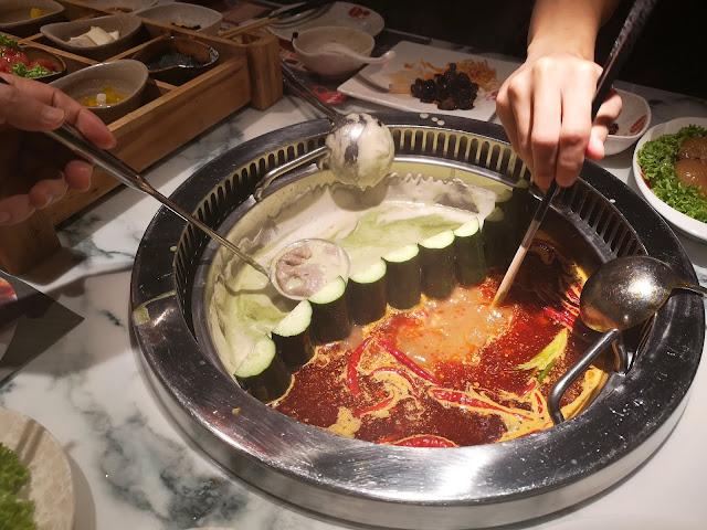 Matcha Spicy Hot Pot