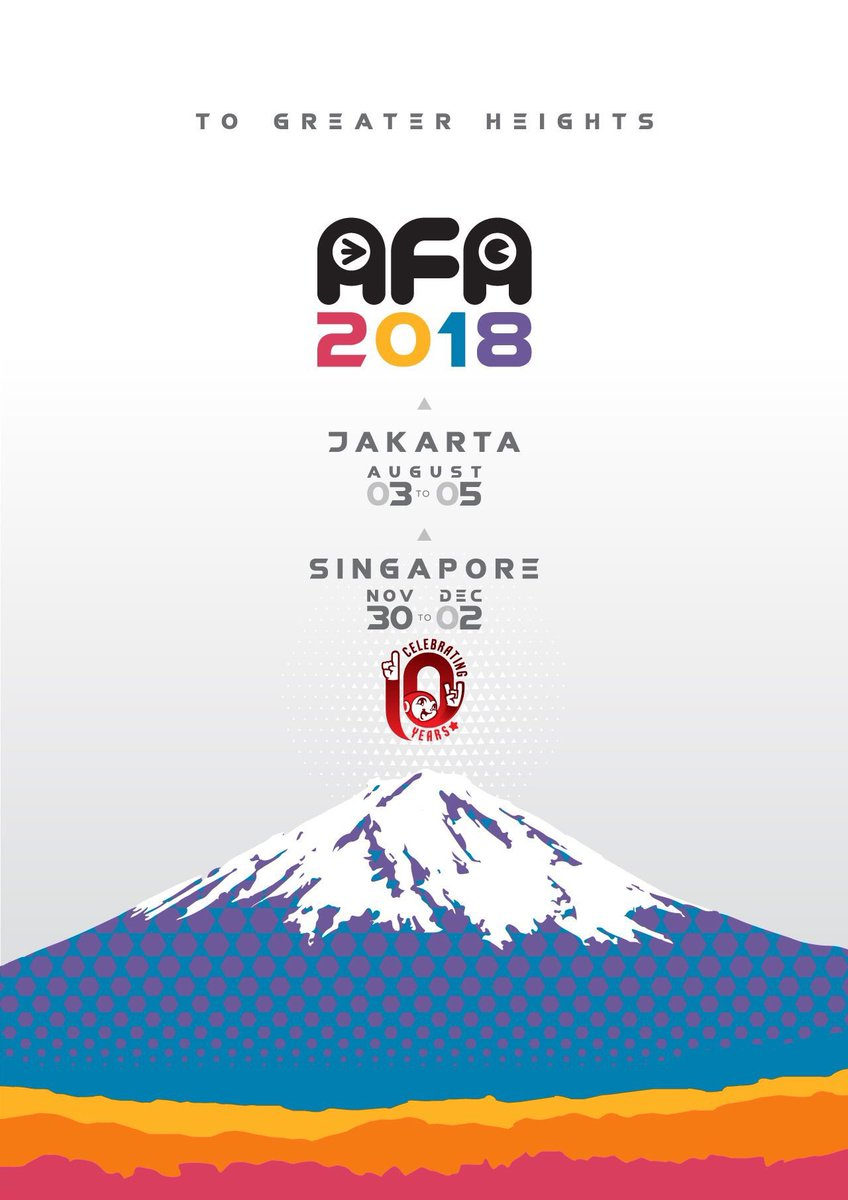 Anime Festival Asia 2018 In Singapore Nov 30 Dec 2
