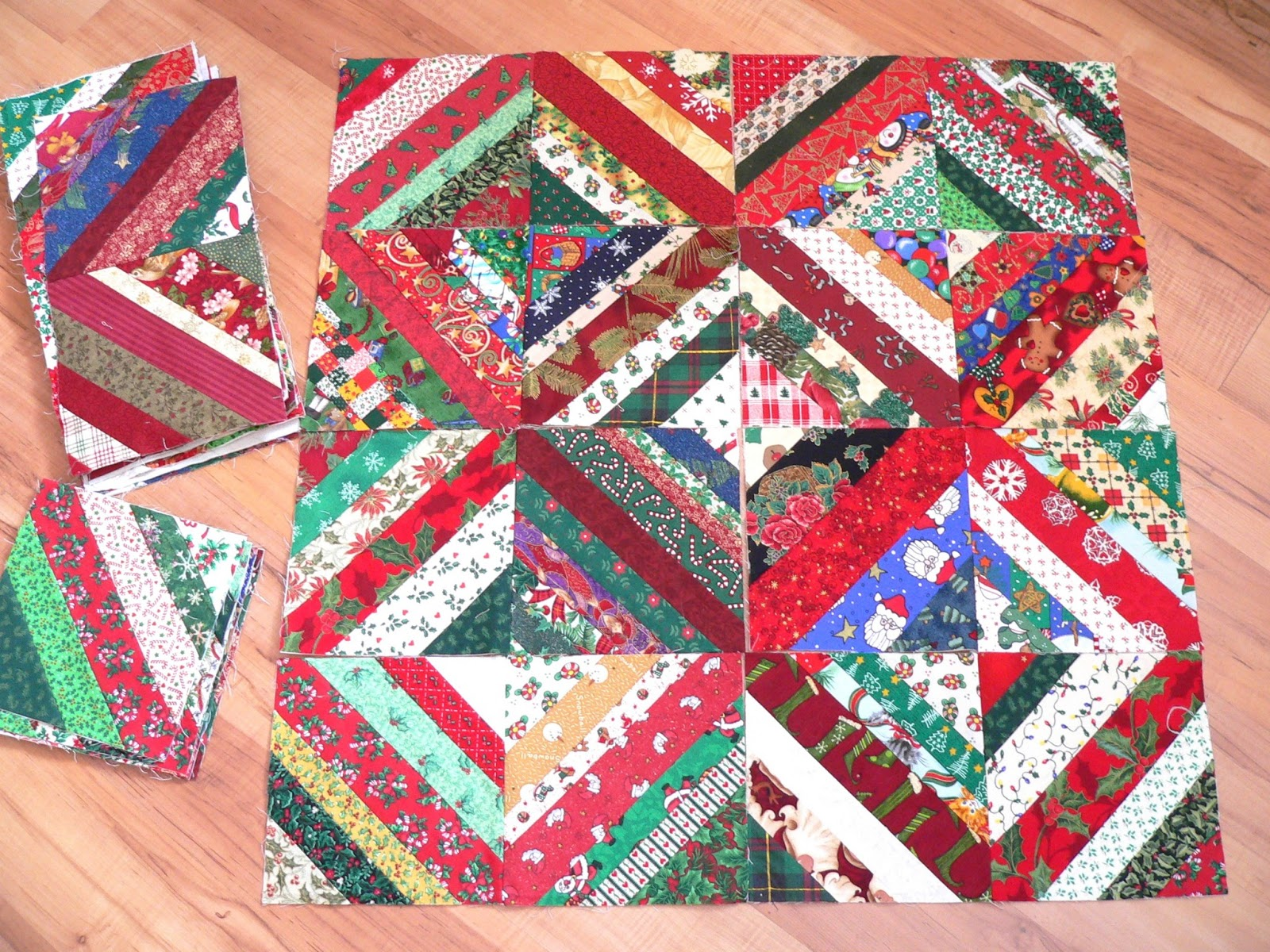 From Hgtv Quilting Forum Swap Christmas Prints