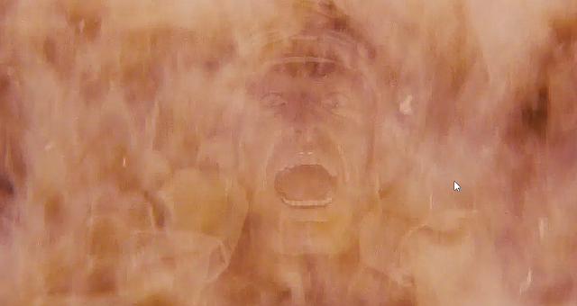 Indiana Jones head exploding scene