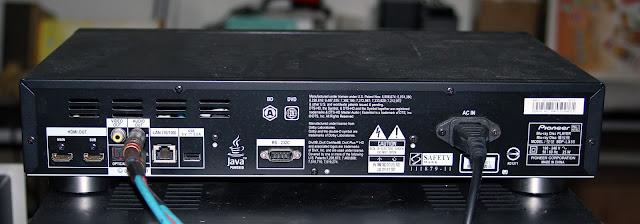 吉鵬音響工作坊: [維修] Pioneer BDP LX55 藍光機