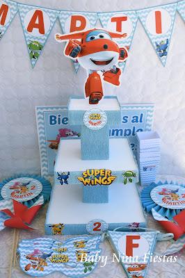 kit cumpleaños superwings