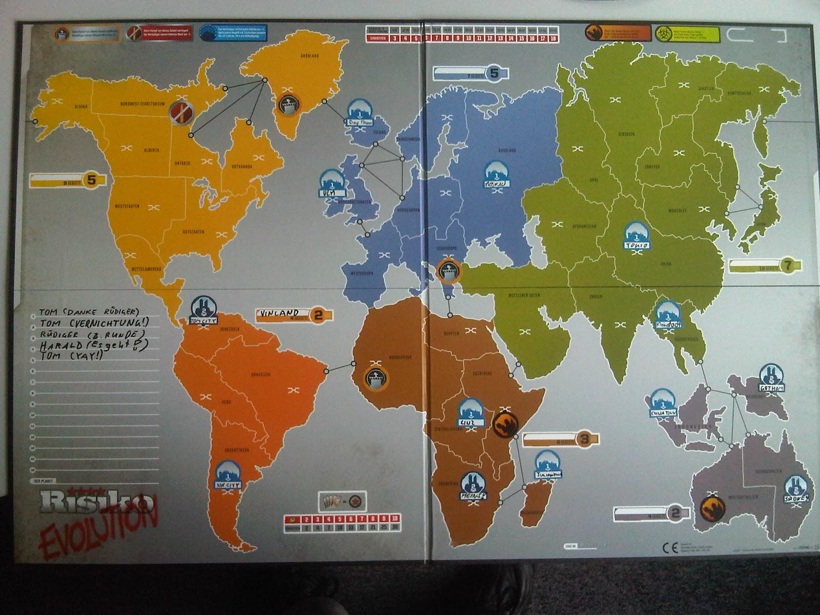 Risiko Karte