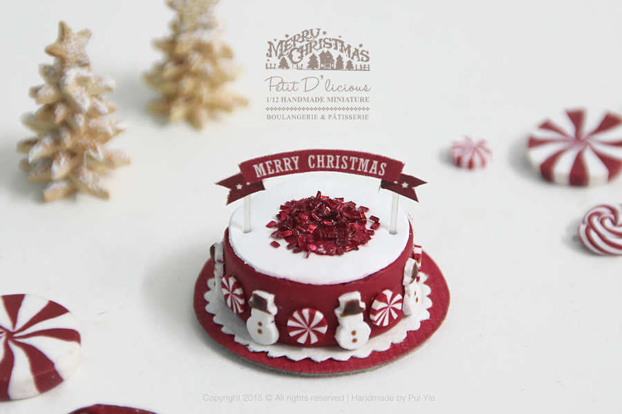 Petit D Licious Snowman Themed Christmas Collection 2015