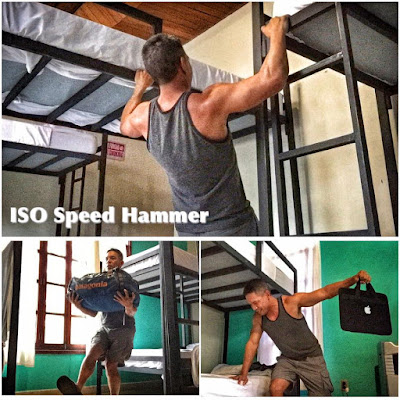 Hammer and Chisel Challenge - Hammer and Chisel Workout Sheets - Hammer and Chisel Challenge Group - Fuego y Agua Survival Run 2016 - ISO Speed Hammer