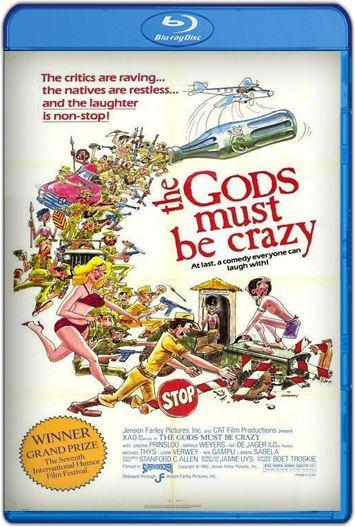Los dioses deben estar locos (1980) HD 1080p Latino