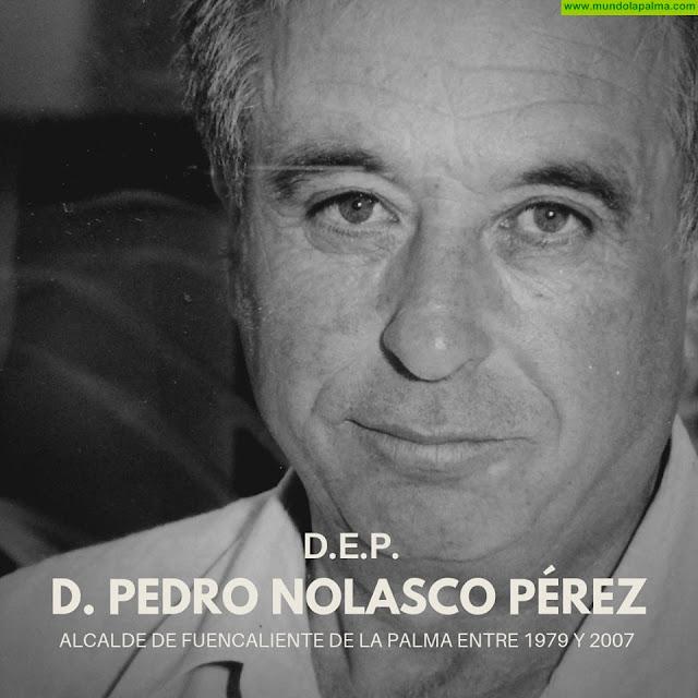 Fuencaliente lamenta el fallecimiento del ex-alcalde Pedro Nolasco Pérez y decreta tres días de luto