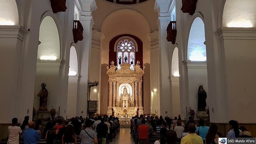 Igreja de San Pedro Claver - Diário de bordo: 4 dias em Cartagena