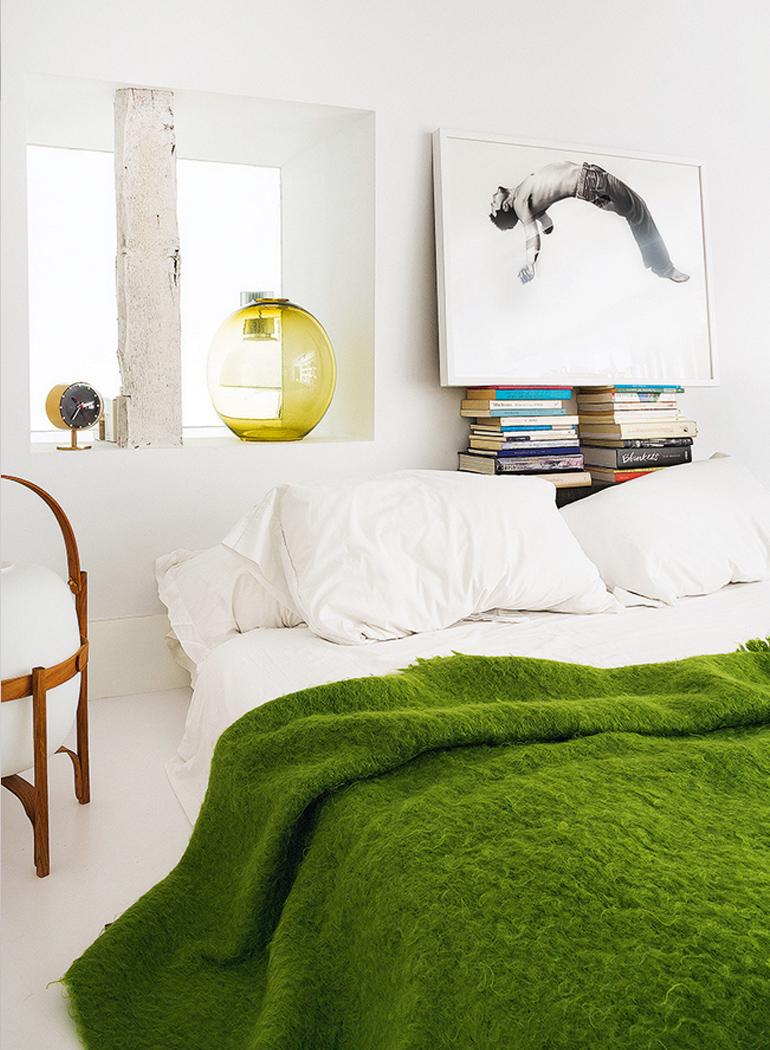 inspiracion-greenery-pantone-complementos-manta-verde