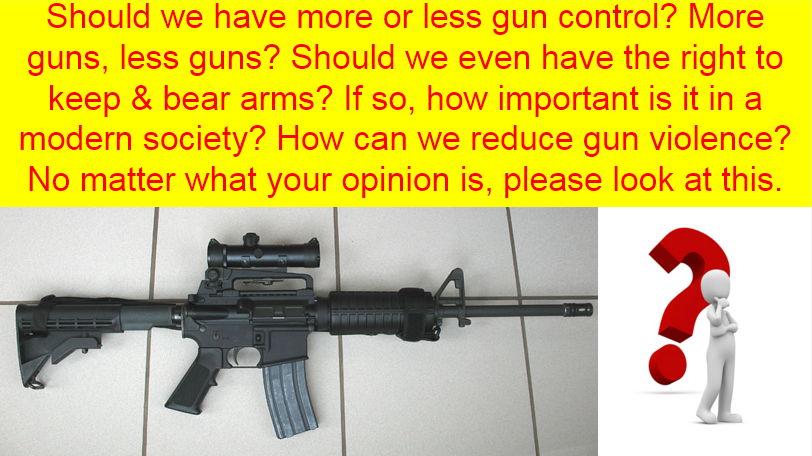 No matter rather you're for or against gun control, please watch by clicking the image below.