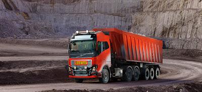 Volvo Trucks anuncia fornecimento de solução de transporte autônomo à Brønnøy Kalk AS