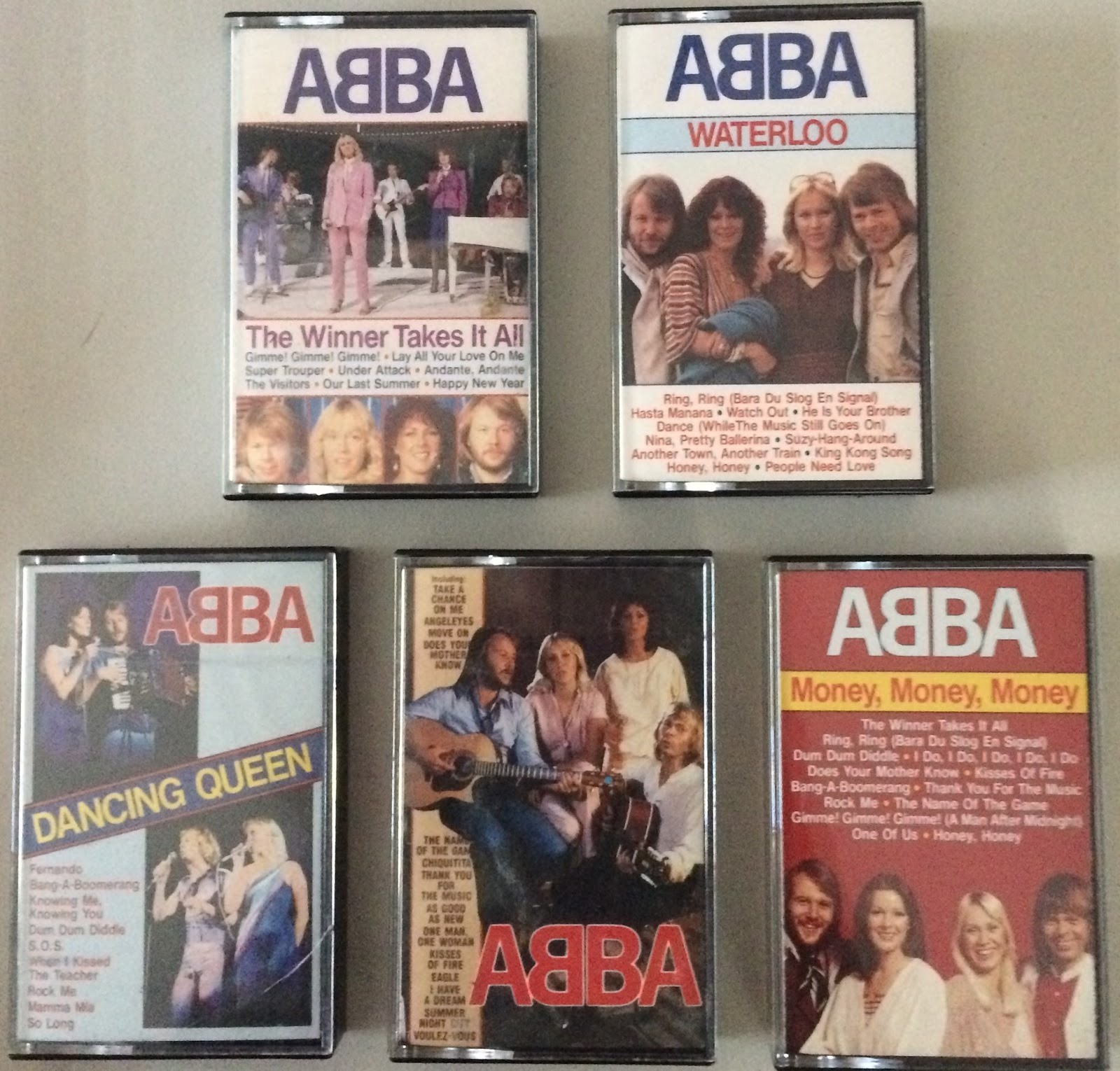 ABBAFanatic: New ABBA Collection Items Bags, Posters, Mugs