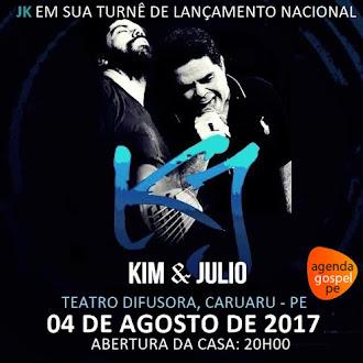 JK (Kim e Julio Motta) Turnê de Lançamento Nacional  em Caruaru/PE - 04 de Agosto de 2017
